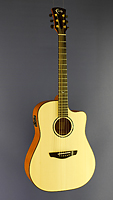 Faith Saturn Westerngitarre, Dreadnought Form, Fichte, Mahagoni, Cutaway, Pickup