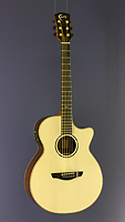 Faith Venus Westerngitarre Grand Auditorium Form, Fichte, Palisander, Cutaway, Pickup
