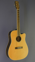 James Neligan Westerngitarre Dreadnought-Form, Zeder, Mahagoni, Cutaway, Pickup